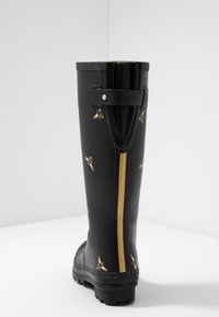 Tom Joule - WELLY PRINT - Gummistövlar - black metallic - 5