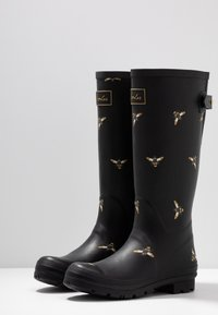 Tom Joule - WELLY PRINT - Gummistövlar - black metallic - 4