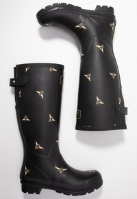 Tom Joule - WELLY PRINT - Gummistövlar - black metallic - 3