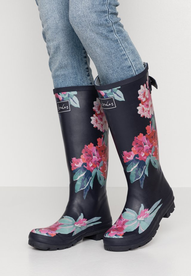 WELLY PRINT - Kumisaappaat - navy