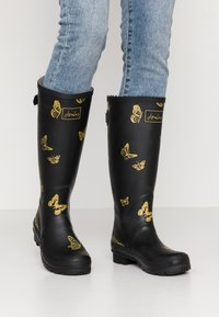 Tom Joule - WELLY PRINT - Gummistövlar - black - 0