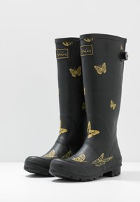 Tom Joule - WELLY PRINT - Gummistövlar - black - 4