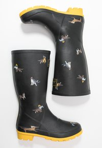 Tom Joule - ROLL UP WELLY - Stivali di gomma - black - 3