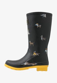 Tom Joule - ROLL UP WELLY - Stivali di gomma - black - 1