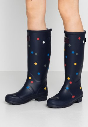 WELLY  - Stivali di gomma - navy/multicolor