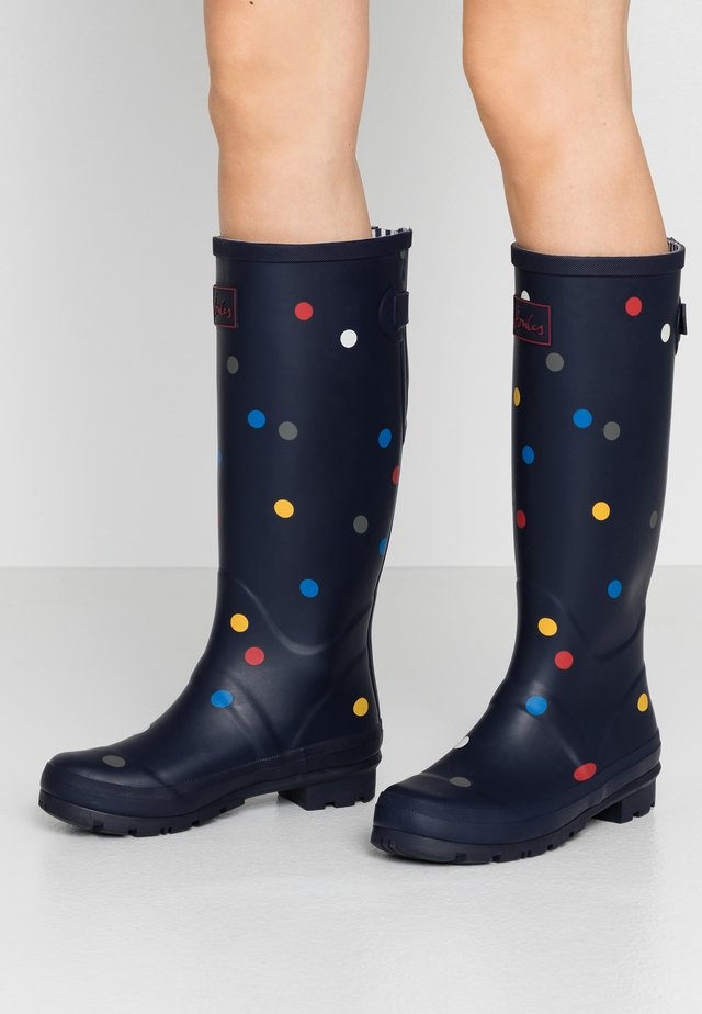 WELLY  - Kumisaappaat - navy/multicolor