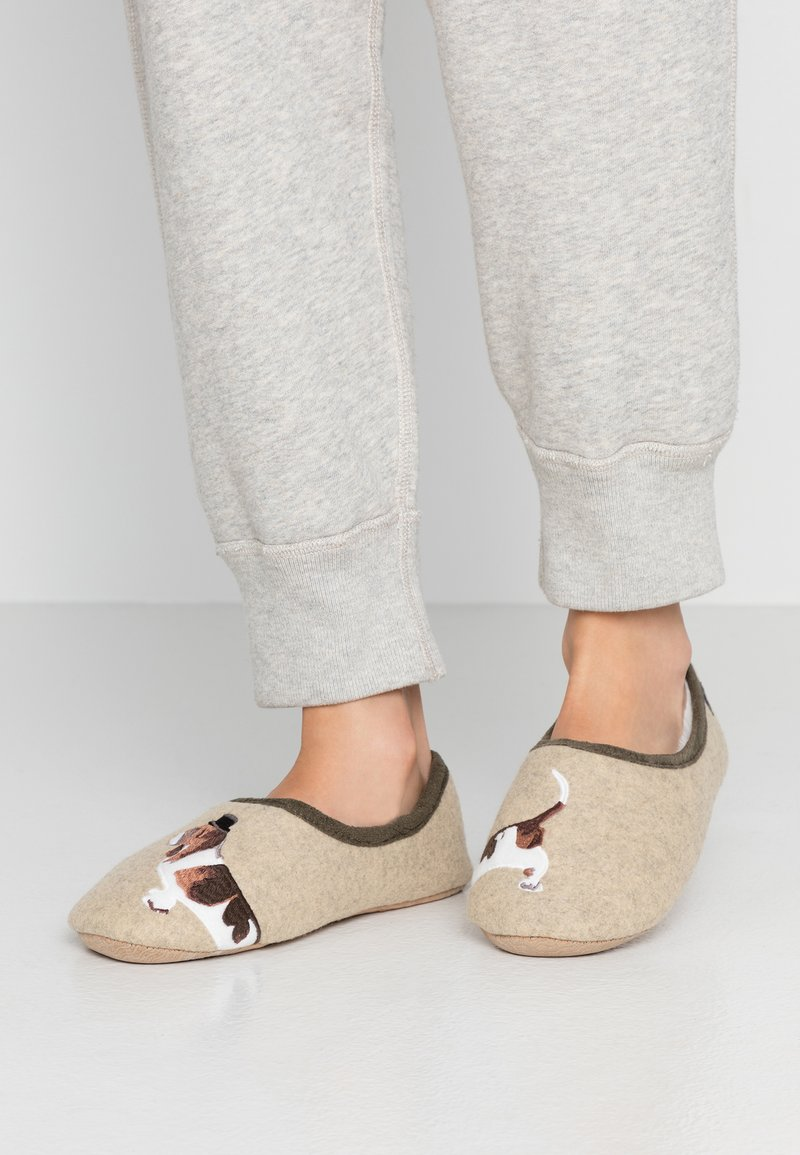 Tom Joule - SLIPPET - Slippers - cream