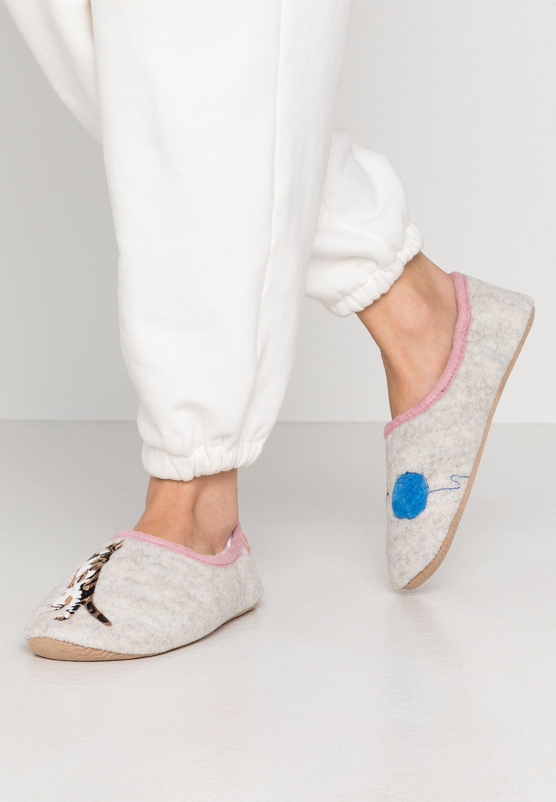 SLIPPET Pantofole grey
