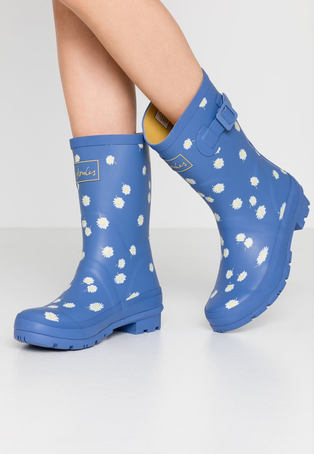 MOLLY WELLY - Kumisaappaat - blue daisy