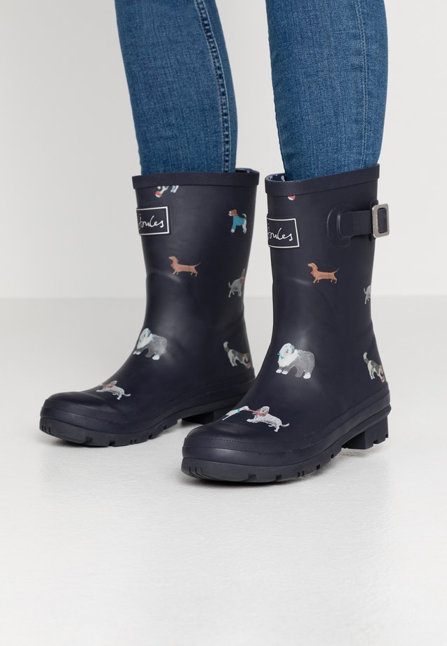 MOLLY WELLY - Gummistøvler - dark blue