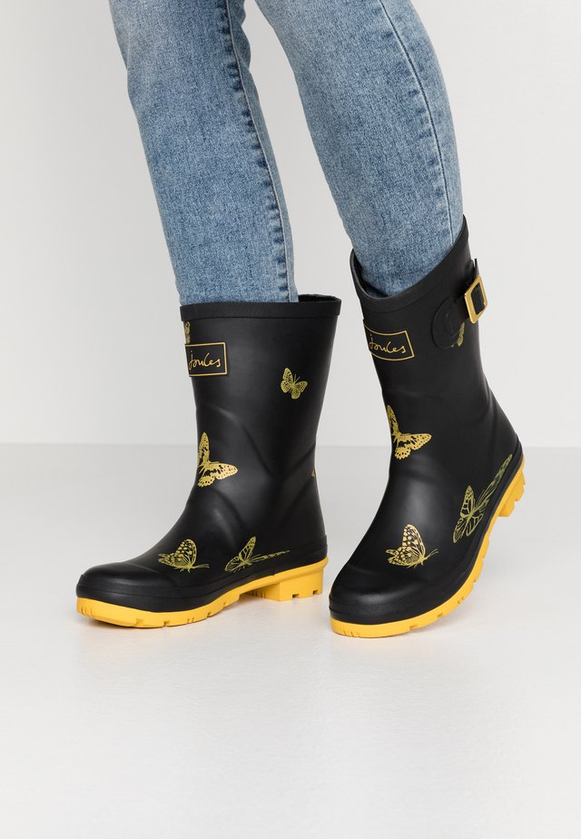 MOLLY WELLY - Kumisaappaat - black