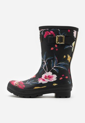 MOLLY WELLY - Gummistiefel - black