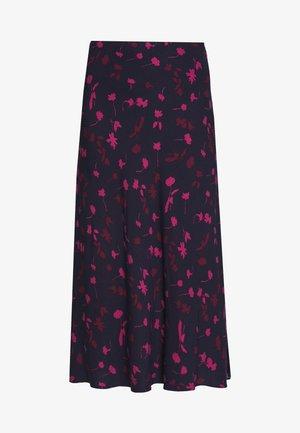 COLETTA - Maxi skirt - dark blue