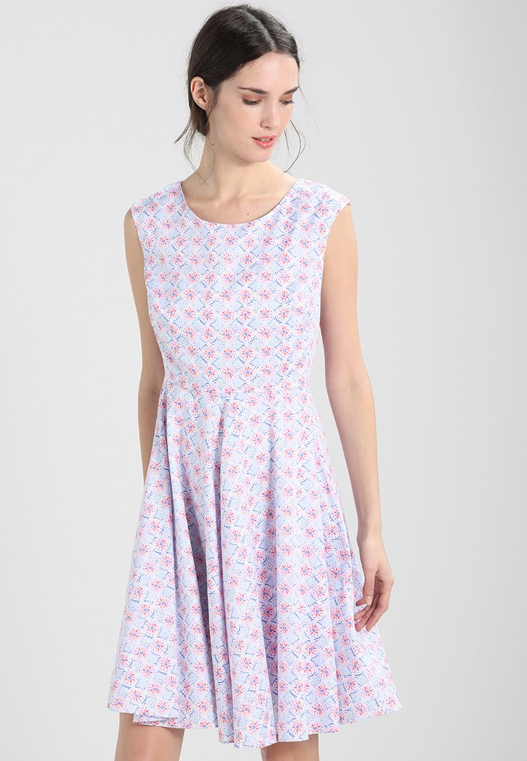 White Tom Fit Woven D'été DressRobe Joule And Flare bvfy76gY