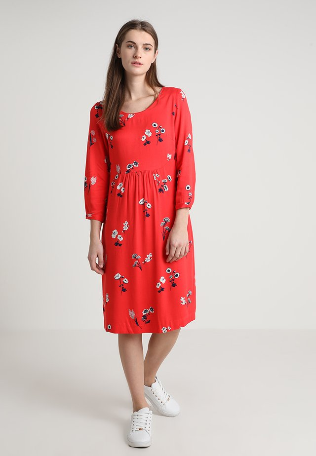 ALISON - Day dress - red floral