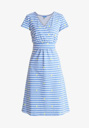 JUDE - Jersey dress - blue pear