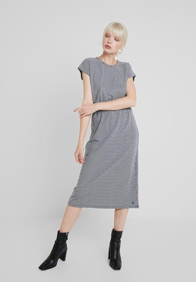 ALMA - Sukienka z dżerseju - navy cream