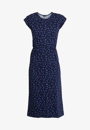 ALMA PRINT - Denní šaty - blue
