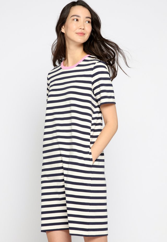 LIBERTY - Jersey dress - french navy blue