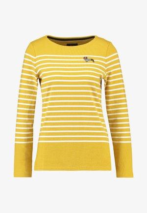 HARBOUR - Långärmad tröja - gold