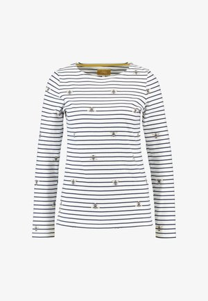 HARBOUR PRINT - Topper langermet - cream