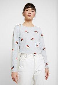 Tom Joule - HARBOUR PRINT - Maglietta a manica lunga - light grey - 0