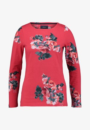HARBOUR PRINT - Long sleeved top - red floral