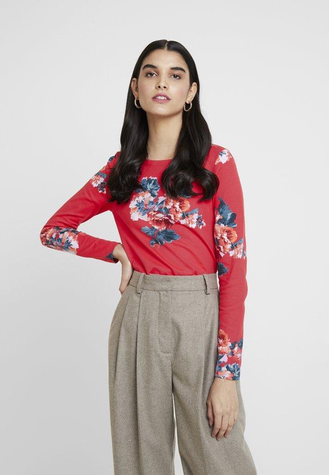 HARBOUR PRINT - Langarmshirt - red floral