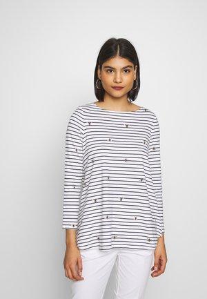 HARBOUR - Långärmad tröja - white