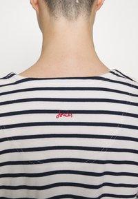 Tom Joule - HARBOUR NOTCH NECK - Top sdlouhým rukávem - white - 5