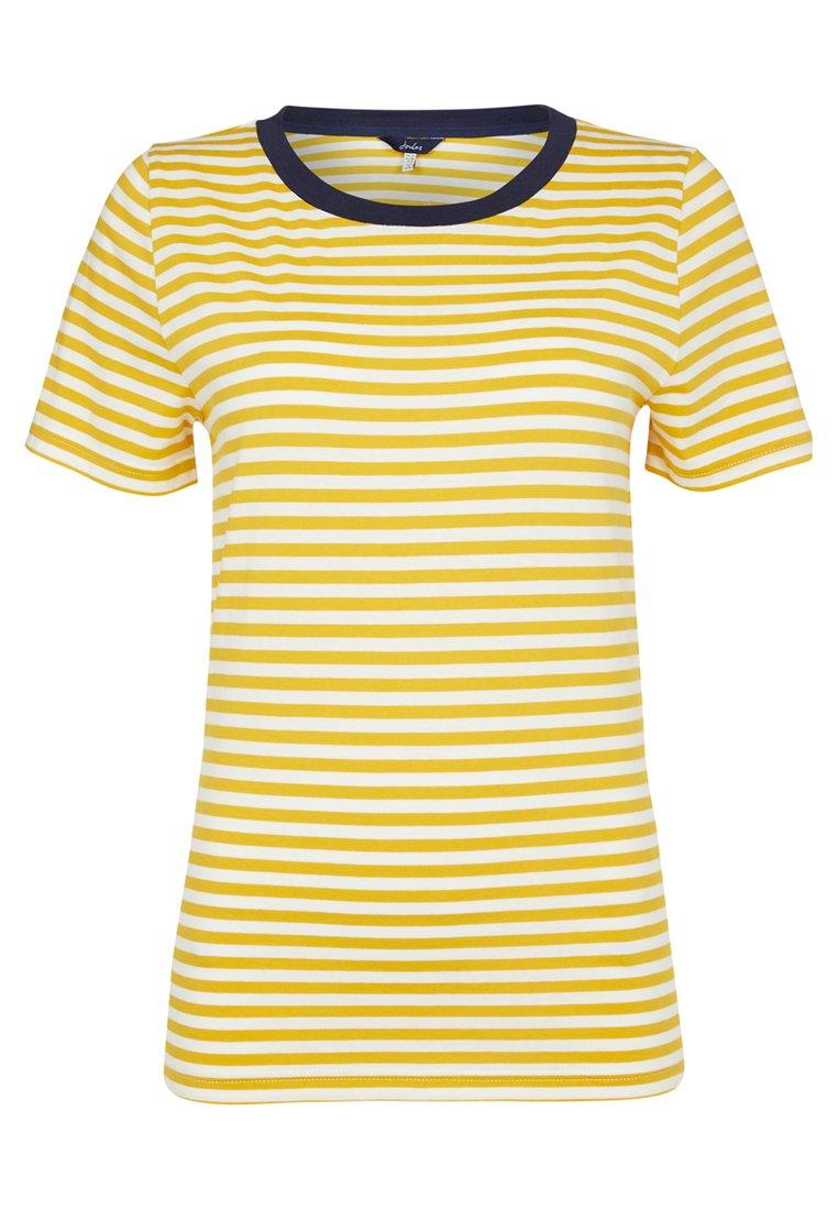 Tom Joule Print T-shirt - antique gold
