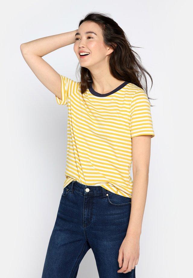 T-shirt z nadrukiem - antique gold