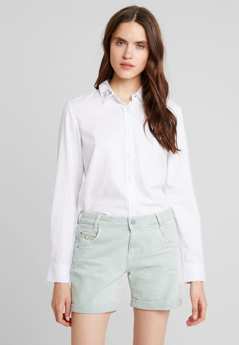 Tom Joule - LUCIE - Button-down blouse - cream