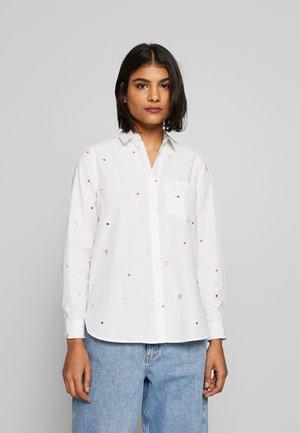 LORENA LUXE - Skjorte - white