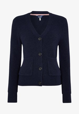 MIT V-AUSSCHNITT LAURA - Cardigan - french navy blue