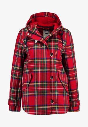 COAST PRINT - Summer jacket - red