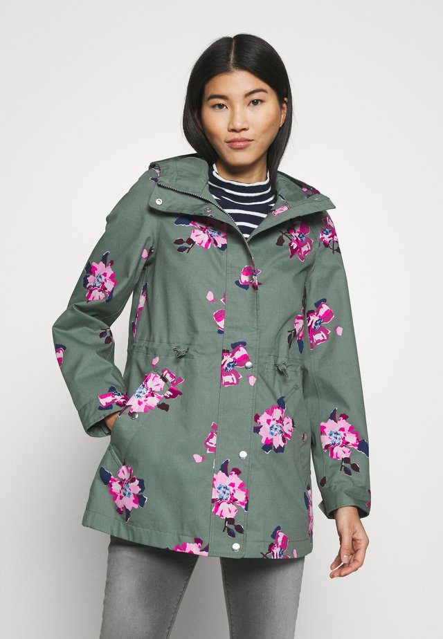 SHORESIDE PRINT - Parkas - green