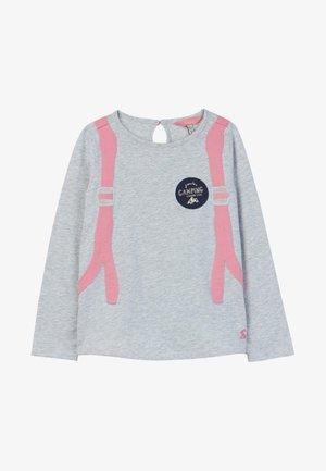 MIT APPLIKATION ANIMATE - T-shirt à manches longues - grey