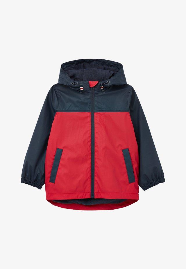 Regenjacke / wasserabweisende Jacke - red