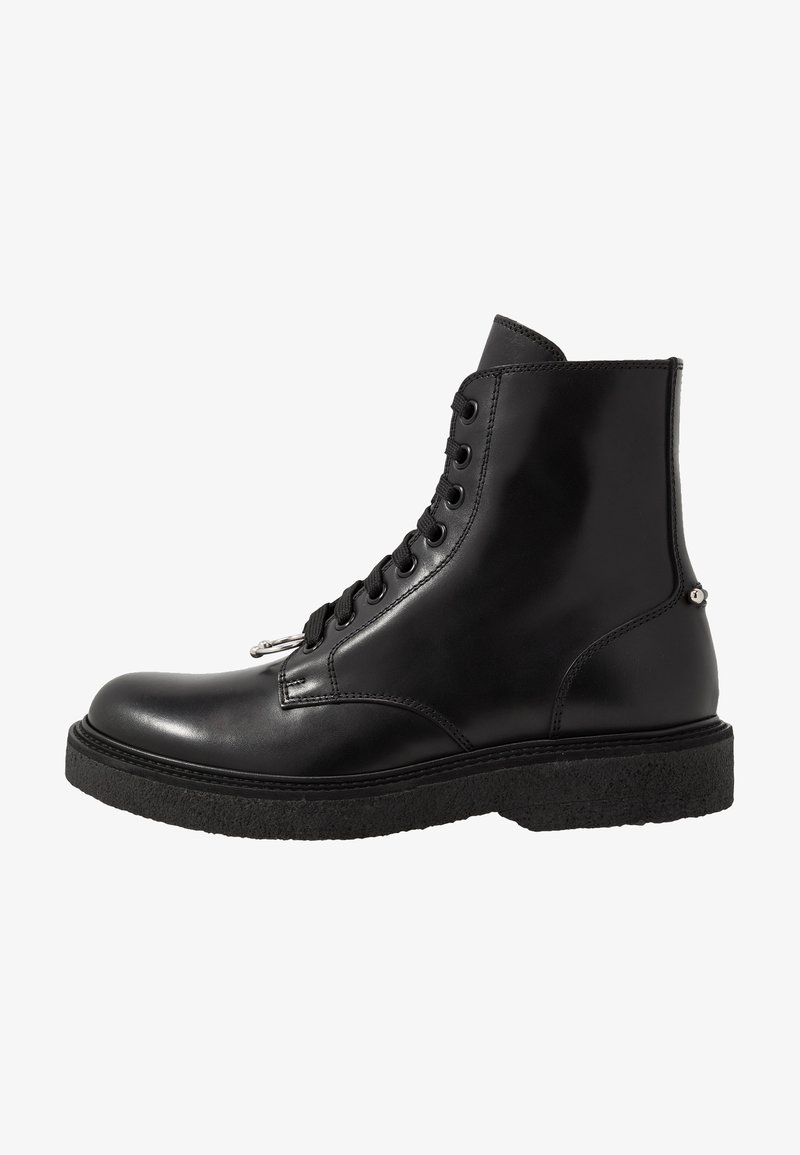 Neil Barrett - PIERCED PUNK - Lace-up ankle boots - black