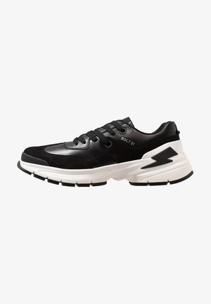 CITY TRAINER - Sneakersy niskie - black/white
