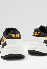 Neil Barrett - TIGER BOLT SPORTS - Trainers - black/yellow/white - 5