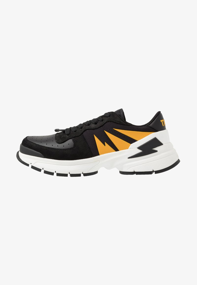 Neil Barrett - TIGER BOLT SPORTS - Tenisky - black/yellow/white