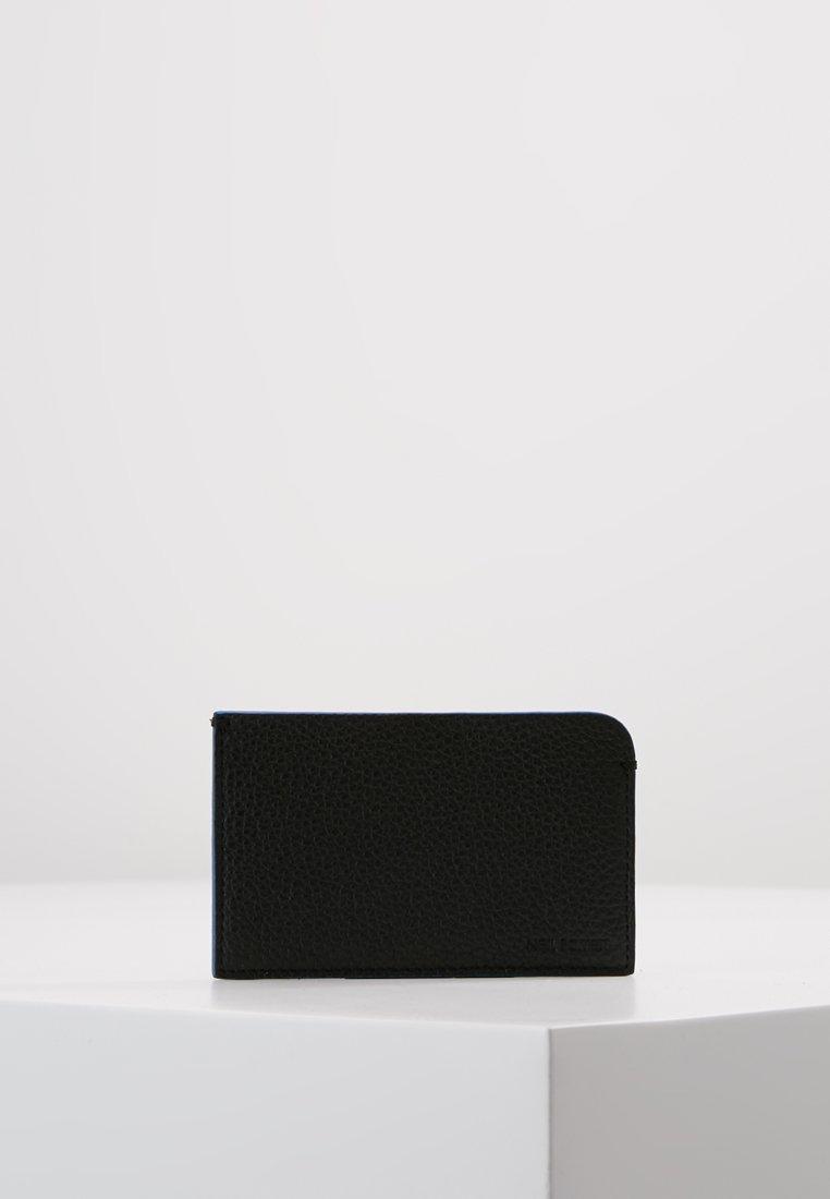 Neil Barrett - CREDITACRAD HOLDER - Wallet - black/blue