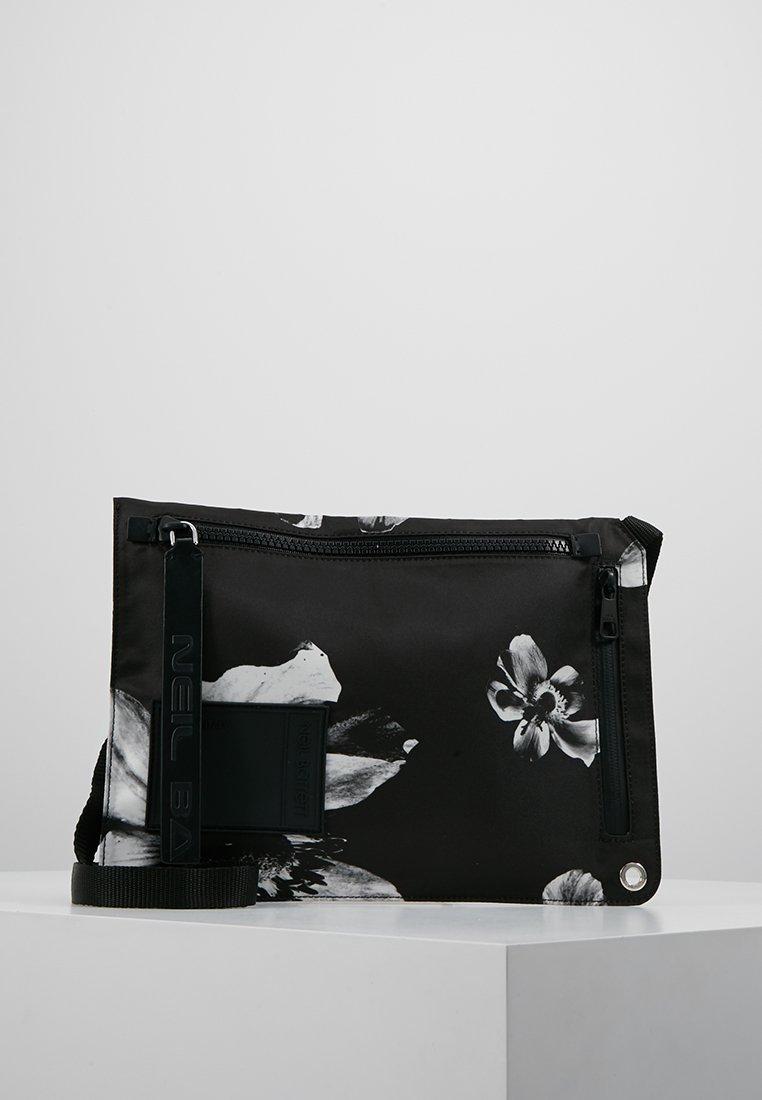 Neil Barrett - ANEMONE BAG - Skuldertasker - black/white
