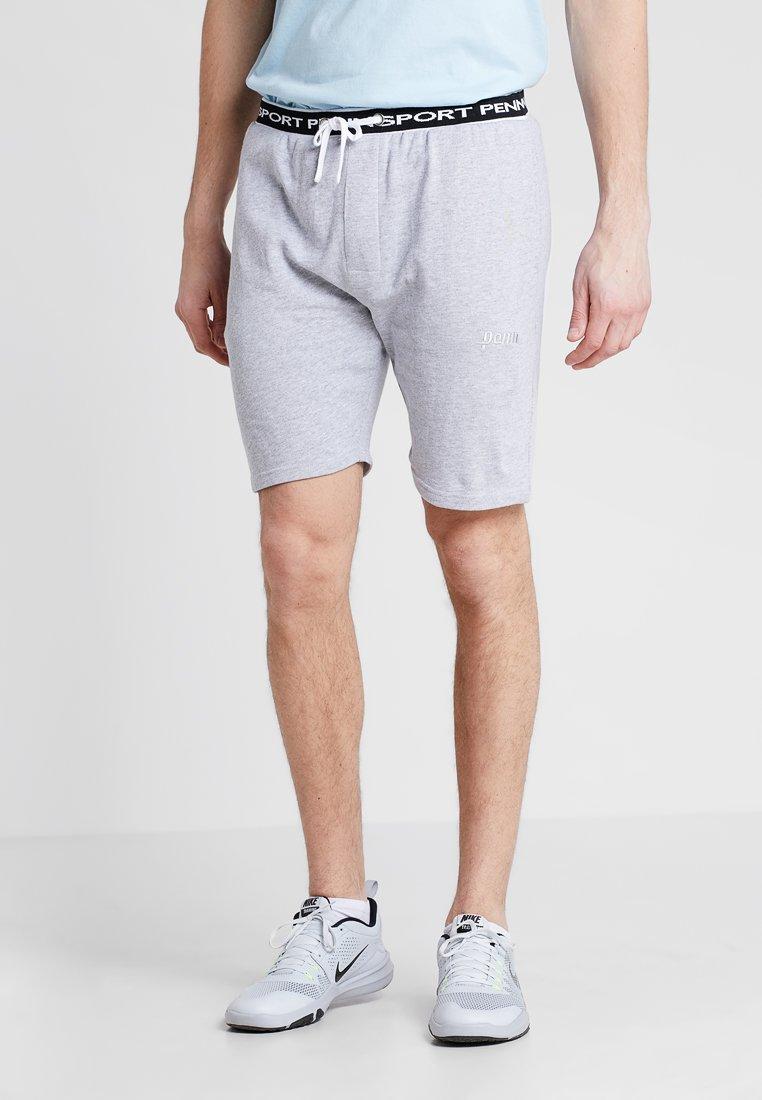 Penn - LOGO SHORT - kurze Sporthose - grey marl