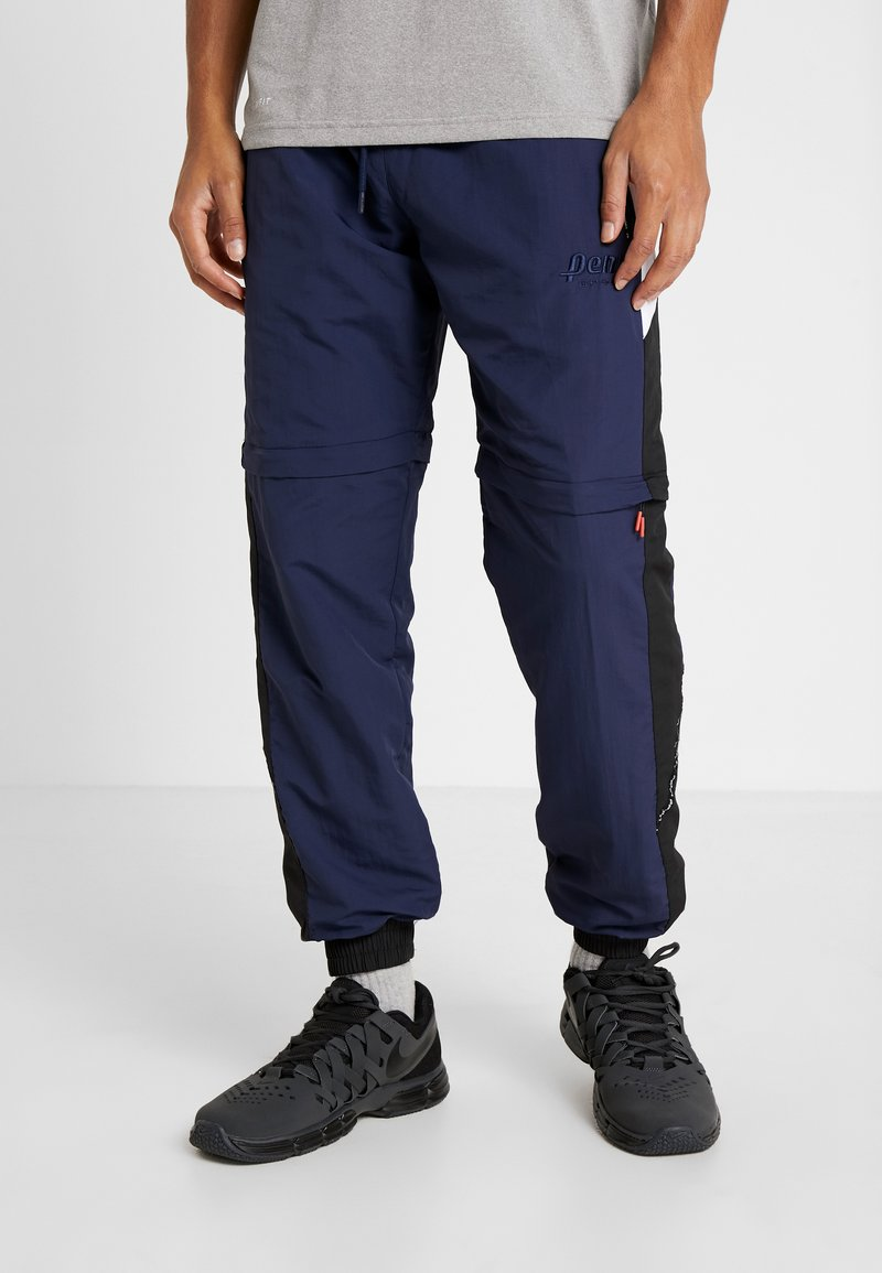 Penn - MENS ZIP OFF TRACK PANT - Jogginghose - navy/black