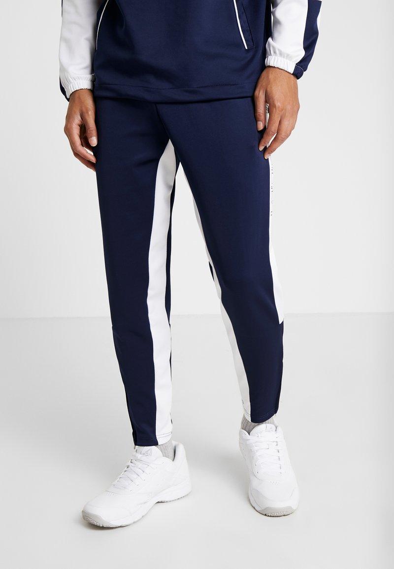 Penn - MEN LOGO TRACK - Pantaloni sportivi - navy