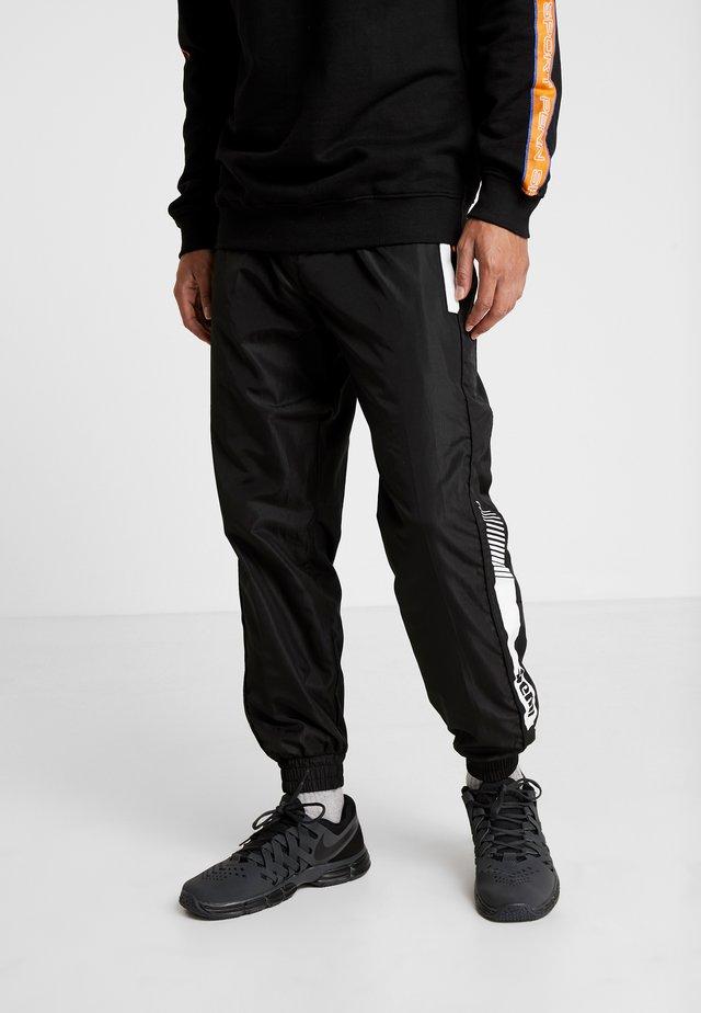 MENS GRAPHICA TRACK PANT - Trainingsbroek - black