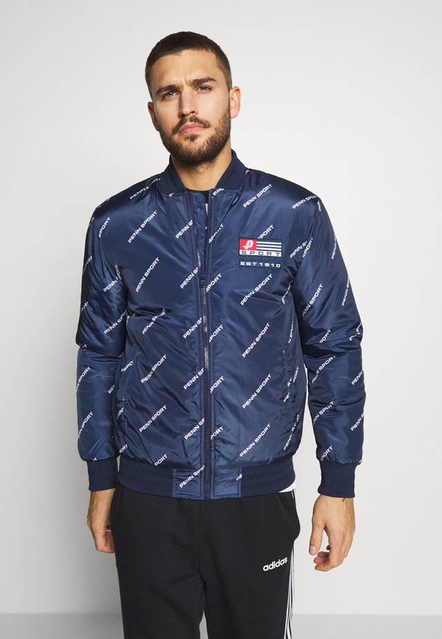 MEN BOMBER - Winterjacke - navy